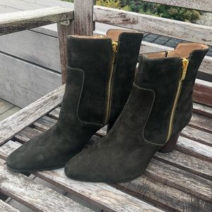 Aerosoles Olive Green Suede Boot